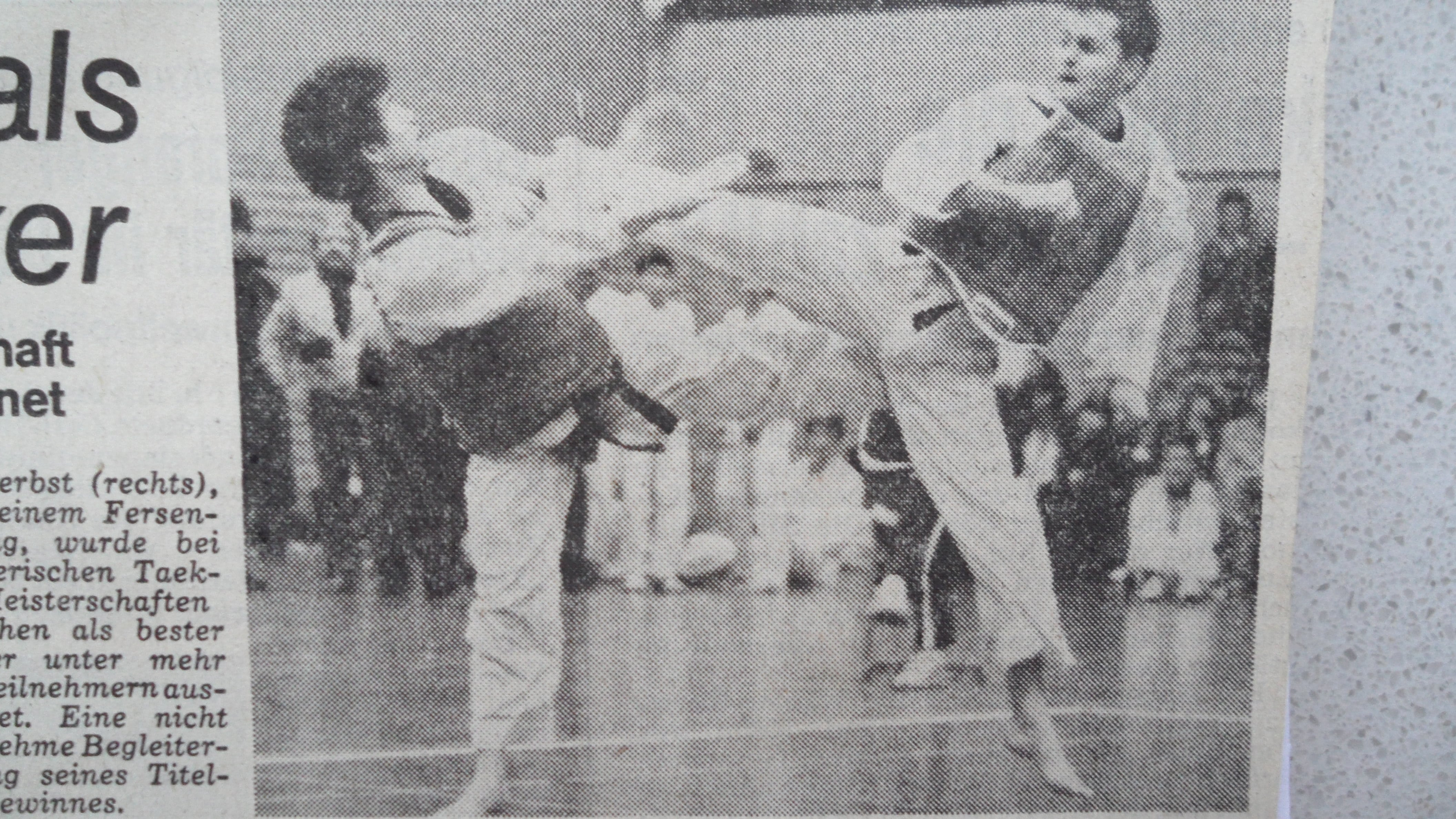 Taekwondo  Ansbach Kampfsport Herbst 3
