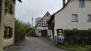 Eingang Budo Club Harloff Kampfsport Ansbach