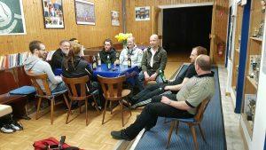 gemütliches Zusammensitzen Kampfsport Ansbach